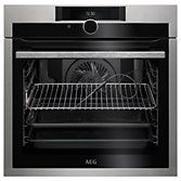 AEG BPE842720M Built-In Single Oven, Stainless Steel at John Lewis