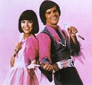 The Donny & Marie Show. Who didn't love them? She's a little bit Country. He's a little bit Rock and Roll.