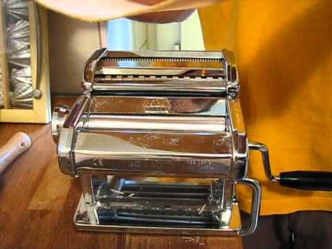 Using the Marcato Atlas pasta machine 150