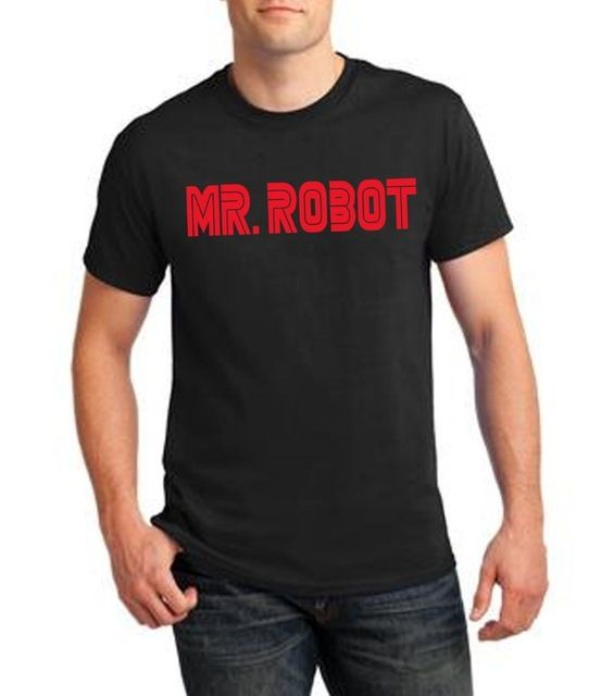 Mens Mr. Robot divertido Evil Corp Fsociety camiseta Mr Robot programa de televisión de hackers programador informático Gamer…
