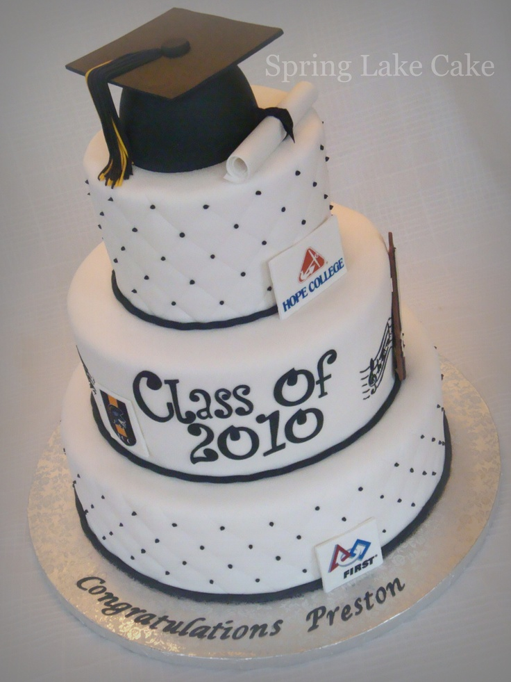 Graduation Cake - For a high school graduation