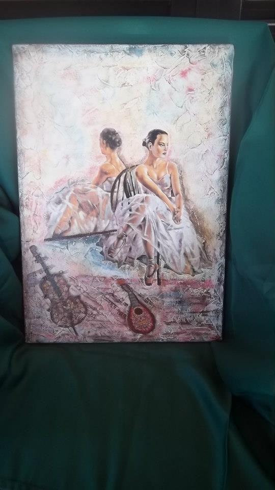 ballerina allo specchio