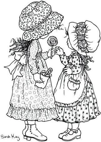 Holly Hobbie Coloring Pages Pesquisa Google Coloring Pages