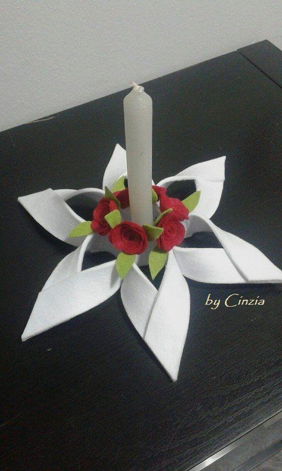 Centrotavola porta candele