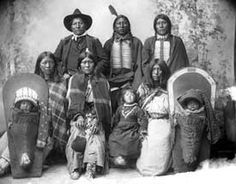 The Ute Indians were a group of Indians that lived mostly around the mountainous area of Utah and Colorado near the Colorado River. But they sometimes lived in dessert areas also. The word Ute comes from the word eutaw or yuta which means dwellers on the top of mountains. Although it is not certain where they originated but it is assumed that they arrived to the Colorado and Utah area around 1000 A.D. The Ute Indians spoke a part of the Uto-Aztecan language called Numic.