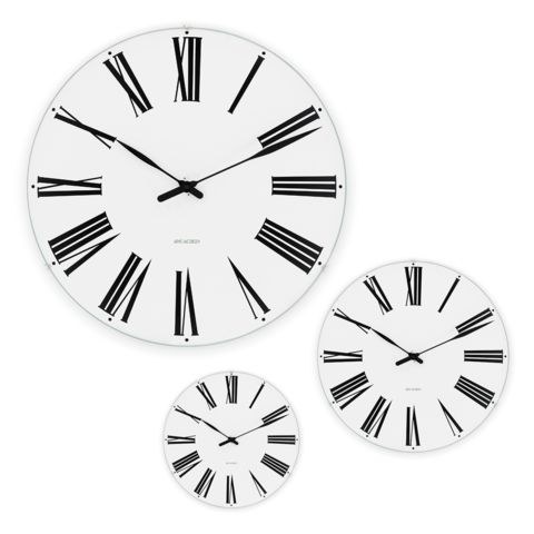 Rosendahl - Arne Jacobsen Roman Wall Clock