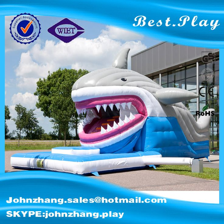 Popular Newest Shark Module Inflatable Baby Games Cheap Bouncer For Sale