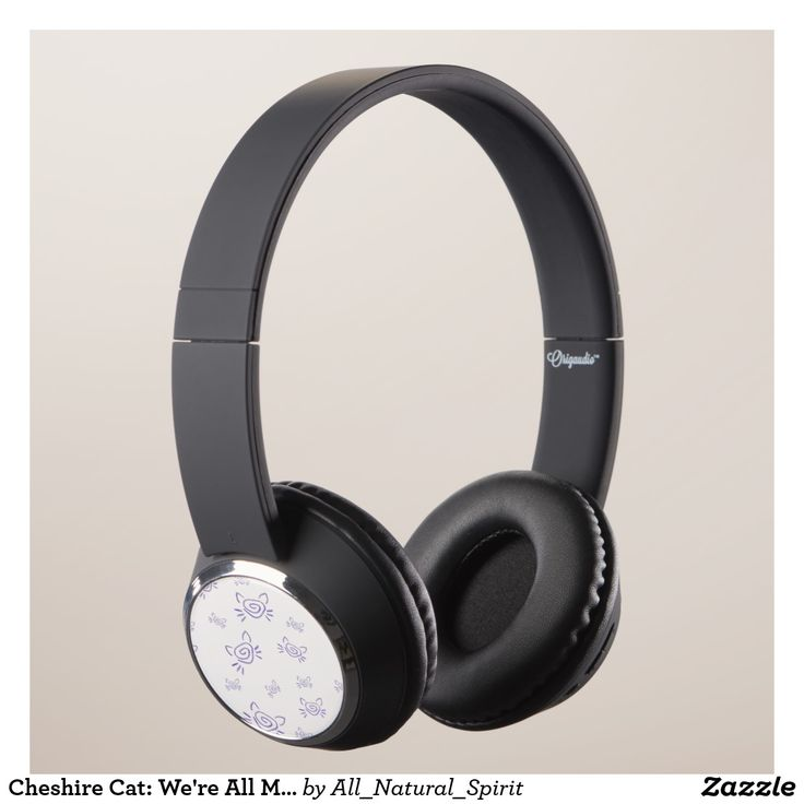 Take a trip to Wonderland with these Cheshire Cat inspired Headphones! Make it Yours! See more @ https://www.zazzle.com/z/yn963?rf=238562247198752459 #Zazzle #AllNaturalSpirit #Headphones #CheshireCat #AliceInWonderland #Wacky #WeAreAllMadHere #Shopping #Art #Fashion #Style Visit our blog @ allnaturalspirit.wordpress.com