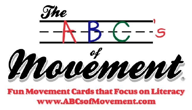 The ABC's of Movement are preschool teaching materials that combine movement with learning the alphabet. Great for kinesthetic learners of all abilities. #literacy https://www.abcsofmovement.com/