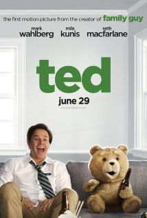 11.5.13: Ted (2012) - This really isn't a very good movie at all.  But I did laugh. ★
