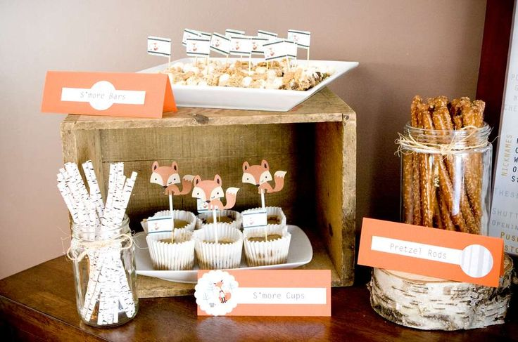Mr. Foxy Fox Birthday Party Ideas | Photo 1 of 22 | Catch My Party