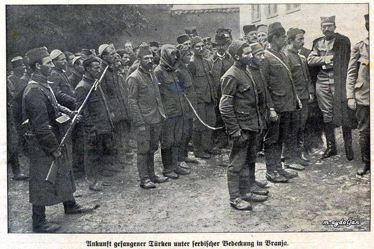 Esir Türk Askerleri Sırp askeri gözetiminde [Branja] Akibetleri nice oldu acep