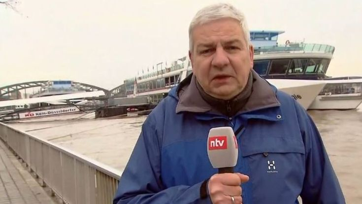 """Carsten Lueb in Köln: """"Scheitelwelle wird Montagnacht erwartet"""""""