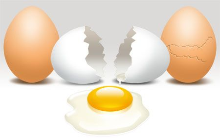 Unboiling an egg, not a parable anymore!