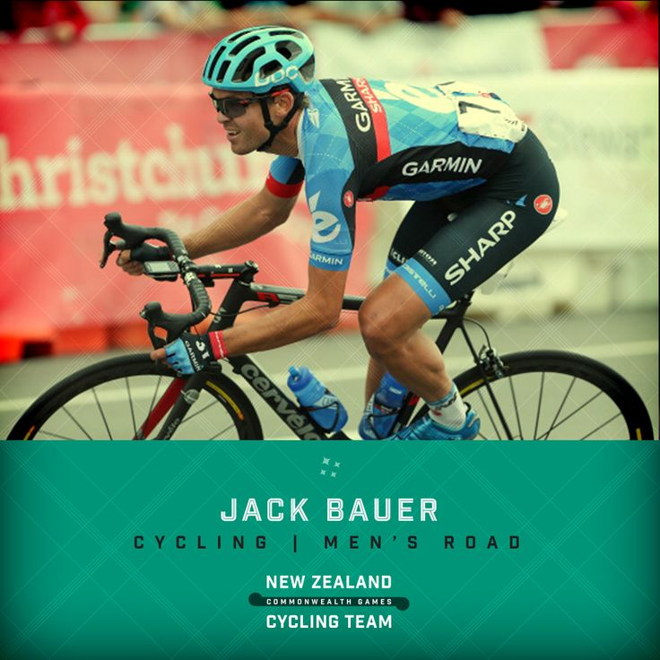 Jack Bauer will be heading to the 2014 Commonwealth Games in Glasgow representing New Zealand in road cycling. #glasgow2014