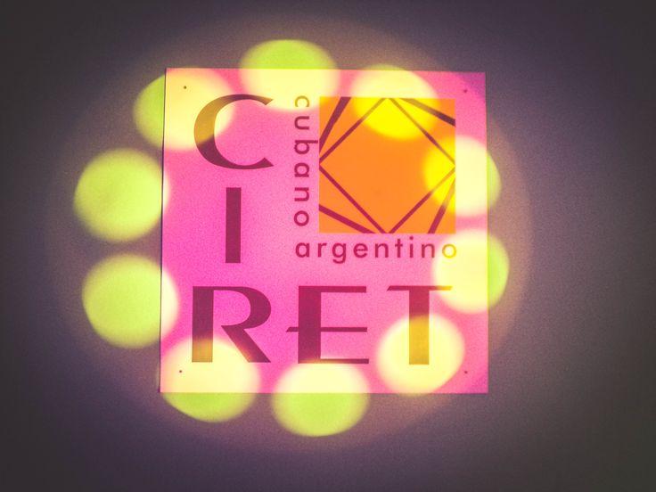 Logo del Ciret. Cierre de año con la muestra de las actividades y talleres, con la presencia de los chicos, profesores, acompañantes terapéuticos y directivos del CIRET