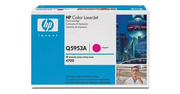 Cartus laser HP Q5953AProdus: Cartus TonerCategorie: ORIGINALTehnologie: LaserProducator: HPCod produs: Q5953ACuloare: MagentaCapacitate: 10000 pagini (5% incarcare\draft)Pret: 600 lei cu TVACost\pagina: 0,06000 lei
