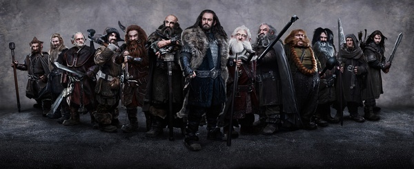 The Hobbit dwarves #thehobbit #hobbit