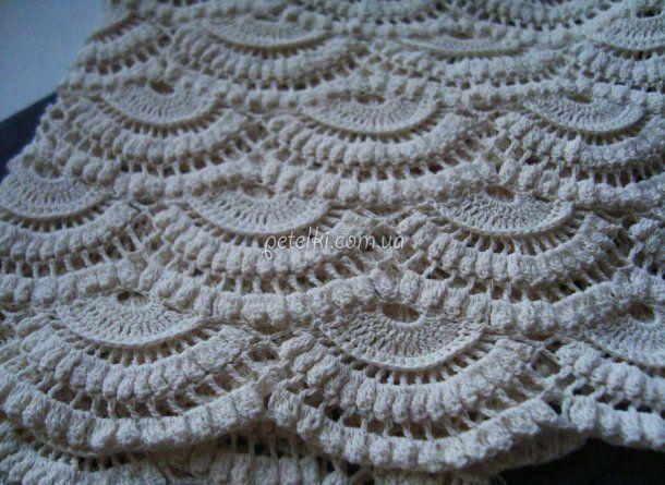 Beautiful crochet pattern Veer.  Scheme