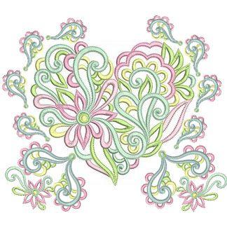 Unique Machine Embroidery Designs
