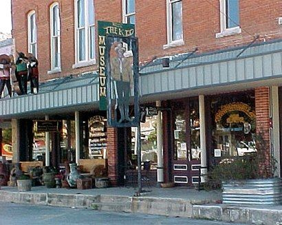 """Billy the Kid Museum, Hico, Texas."""" town is one block long. good popcorn store. big classic car show there every spring. great small museum. """""""