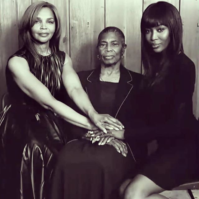 10 Times Naomi Campbell's Mom Proved She's The Real Supermodel ...