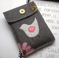 tweety ipad cover by suzybees