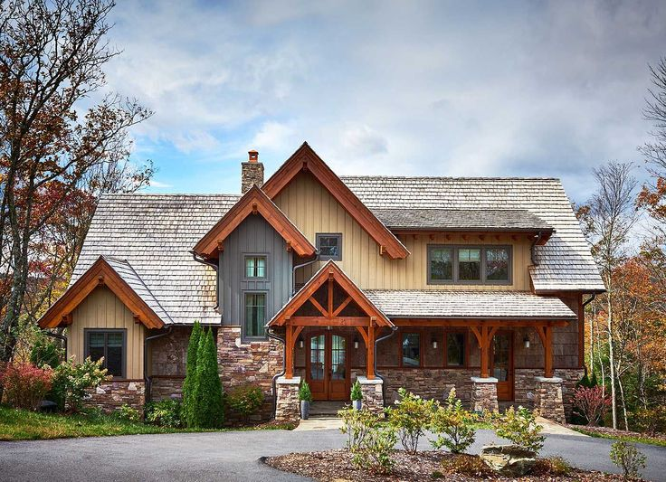 Rustic Mountain Home Designs Custom Inspiration Design