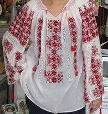 Ie-bluza populara romaneasca.