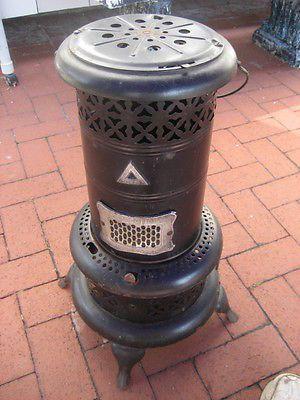 Antique Vtg Pat 1913 Perfection Smokeless Oil Heater