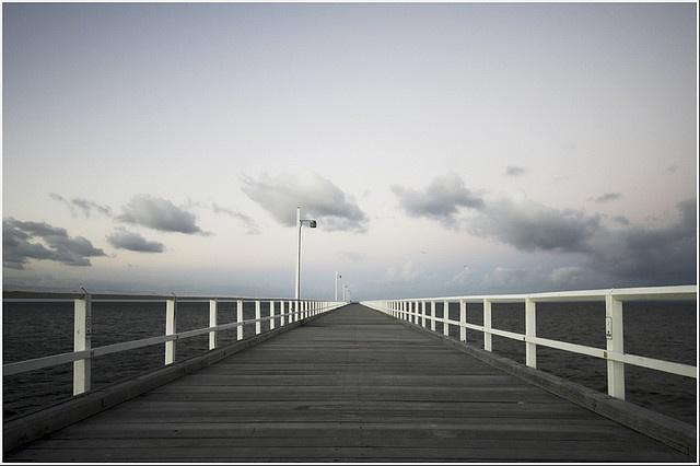 Urangan Pier, Hervey Bay, Australia. Where we go for long weekend getaway's!