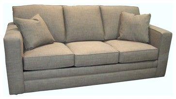 Simon Queen Sleeper Sofa - transitional - sofas - by Walter E. Smithe Furniture Inc