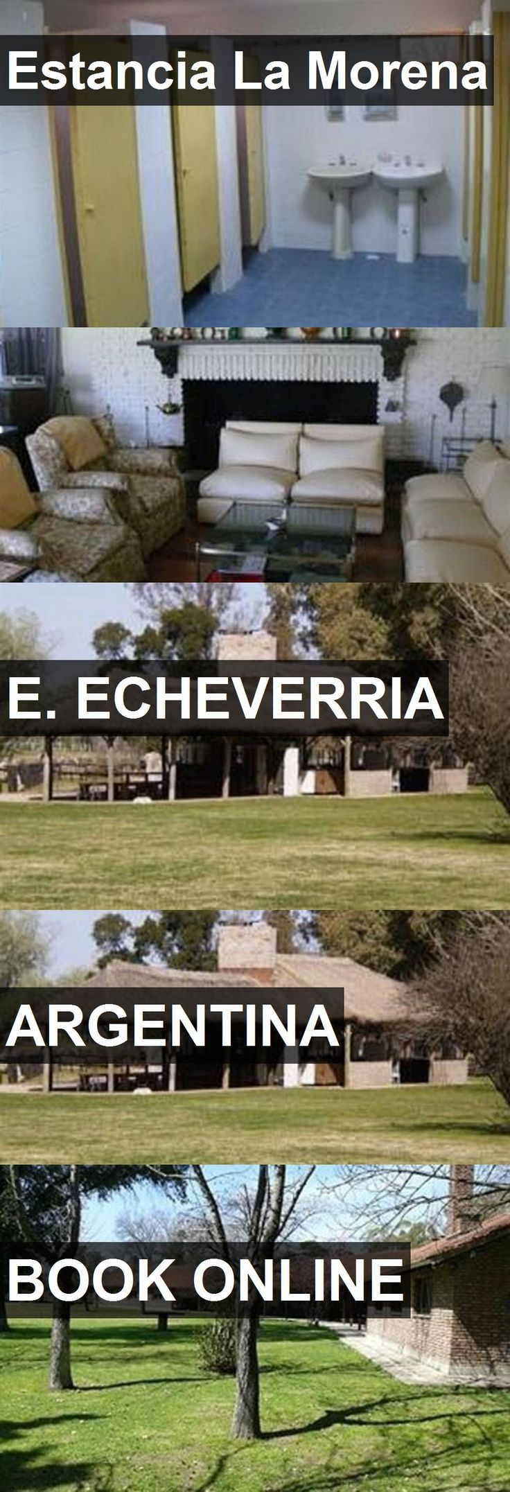Hotel Estancia La Morena in E. Echeverria, Argentina. For more information, photos, reviews and best prices please follow the link. #Argentina #E.Echeverria #EstanciaLaMorena #hotel #travel #vacation