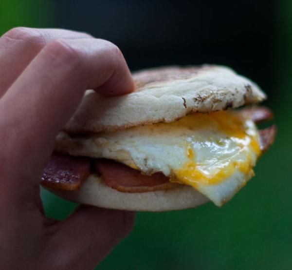 Taylor Pork Roll, Egg and Cheese on an English Muffin Recipe | http://aol.it/1voe0j5