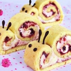 Snail roulade, but with a smile - I'd eat that up!