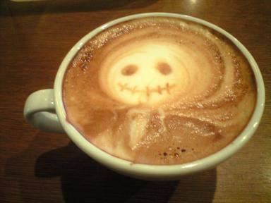 The Nightmare Before Christmas - coffee art