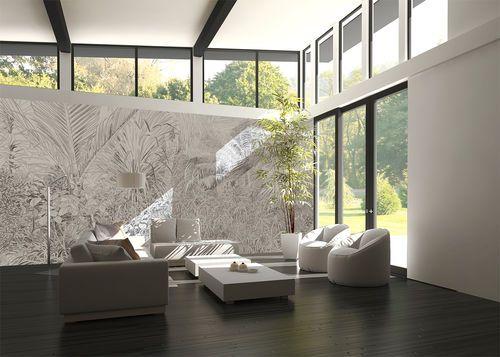 1000 id es sur le th me papier peint contemporain sur. Black Bedroom Furniture Sets. Home Design Ideas
