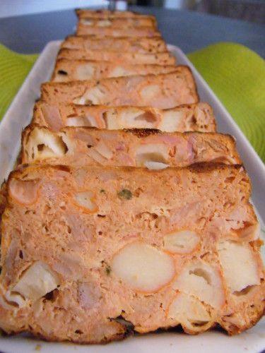 Bonjour, Voici une recette de pain de thon répérée chez Lolo