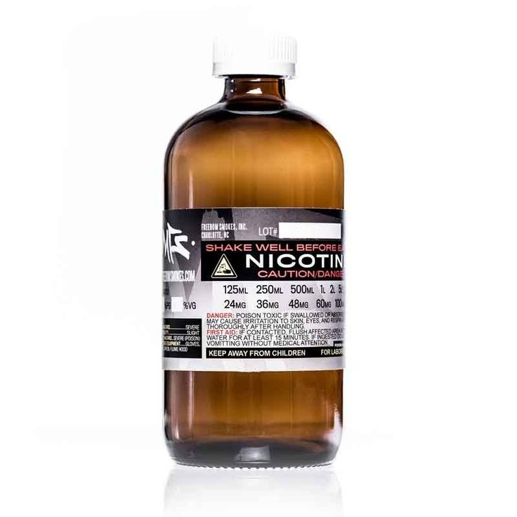 """UNFLAVORED NICOTINE E-LIQUID BASE Our famous Unflavored Nicotine """"Smoke Juice"""" E-Liquid is made with the highest grade nicotine available. Buy with confidence knowing that you are getting the very best nicotine available and that it is always distilled from actual tobacco leaves and stems and not synthetically produced. For more information read below and click the link to see our latest batch testing results Click Here to See our latest Batch Testing ResultsInternational orders ..."""