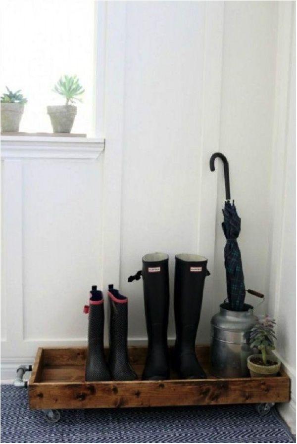 10 Ideen, Schuhe in Ihrem Eingang zu speichern