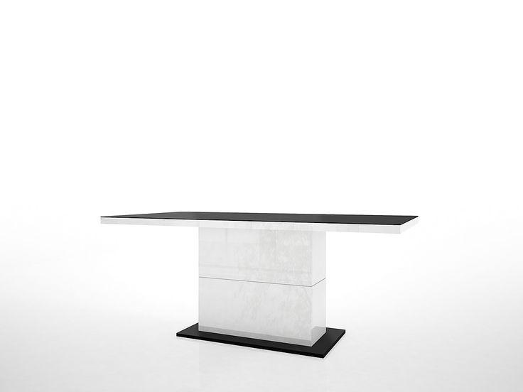 124 best Esszimmer   Esszimmertisch images on Pinterest Ad home - ausziehbarer esstisch glas holz kunststoff