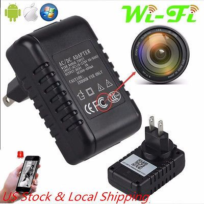 ﹩37.00. Mini WiFi Full HD 1080P Hidden Spy Cam Wall Charger DV Video Motion Detection US    Application - Indoor Only, Color Mode - Color, Connectivity - IP/Network - Wireless, Features - Audio Recording, Form Factor - Charger, Resolution (TVL) - Full HD 1080p, Type - Peephole Camera, UPC - 922731597560
