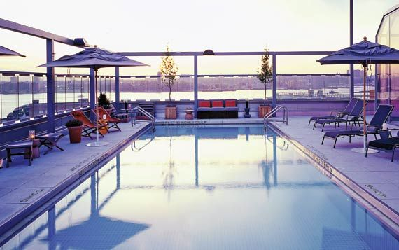 113 best images about rooftop amenities on pinterest - Hotel new york swimming pool roof ...