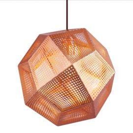 Replica Tom Dixon Etch Shade Pendant light - Copper-Large
