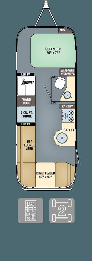 Floor Plans - International Serenity 25FB