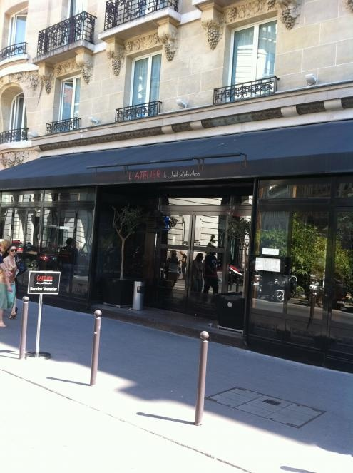 L'Atelier de Joël Robuchon | Zagat -- where Barbara Lynch has a four-hour lunch when she arrives in Paris