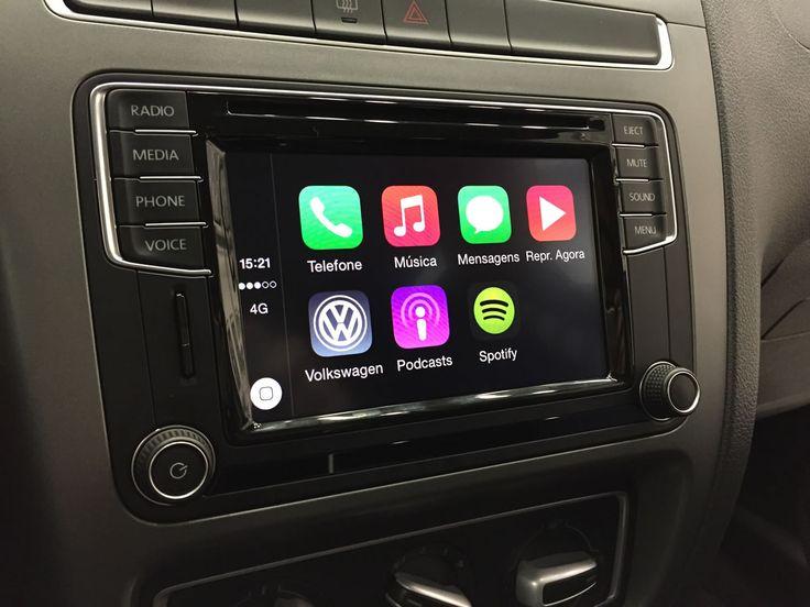 Volkswagen App-Connect, o mais avançado sistema de infotainment disponível no país.