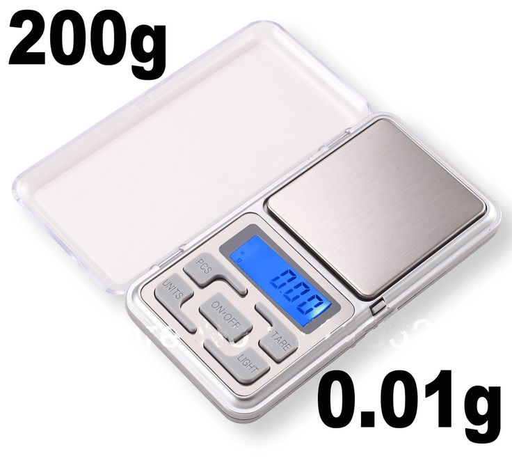 Digital Scale - 200g max - 0.01g resolution - The ODIN