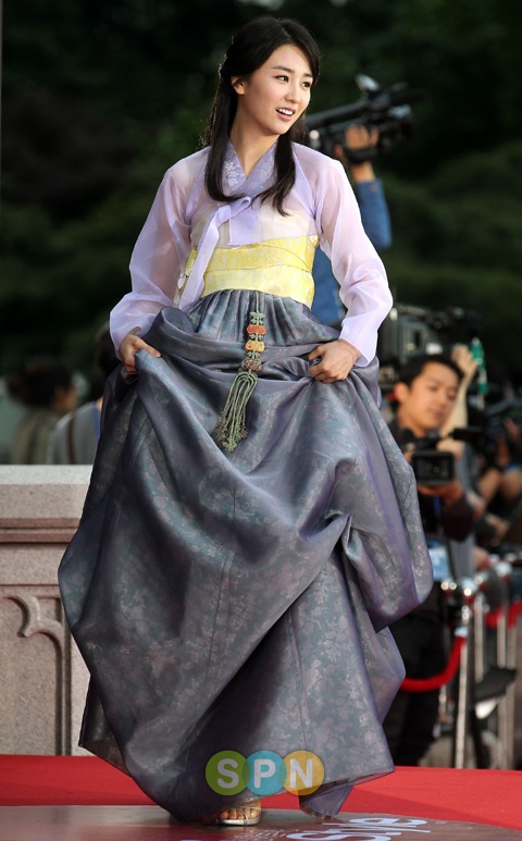 korean actress park hasun in hanbok #hanbok
