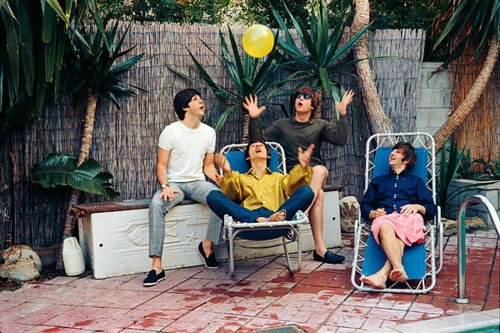 Poolside with The Beatles